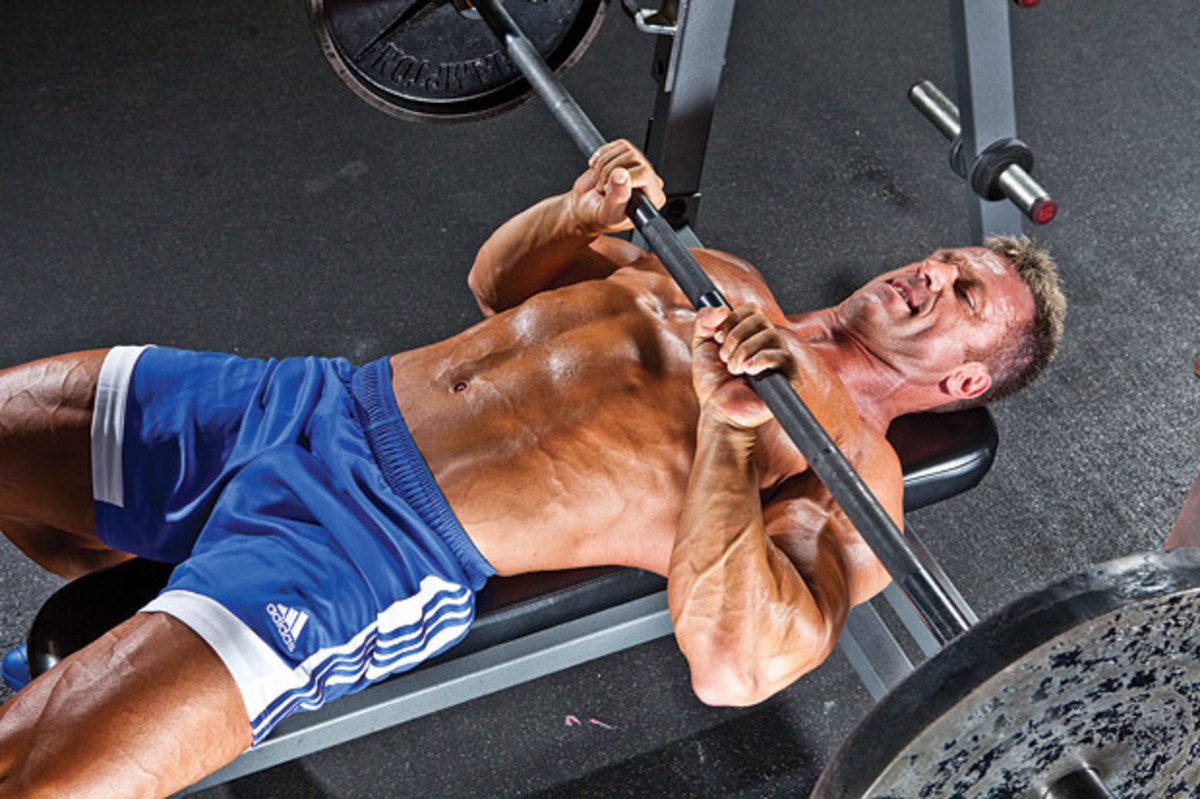 Beast Life: Close Grip Bench/Tricep Press - Men Of The West