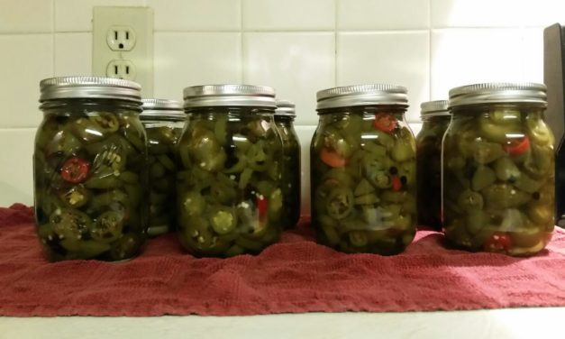 Preserving the Harvest: Peppers