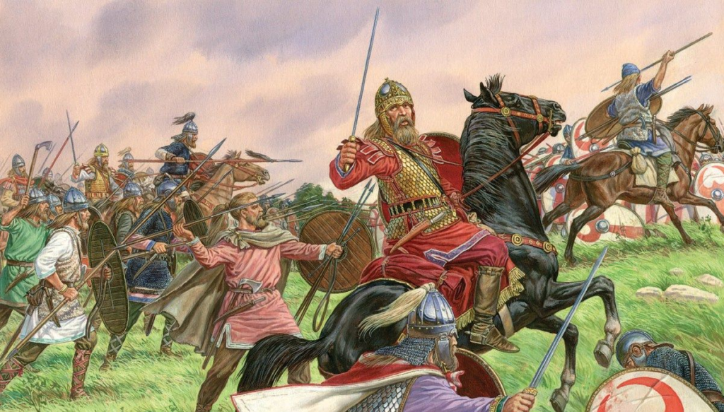 The Roman and the Teuton: The Human Deluge - Men Of The West