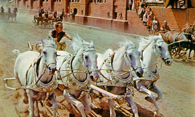 Friday Music: Parade of the Charioteers (Ben-Hur)