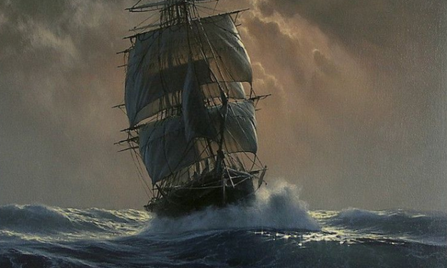 """""""A Knight of the Ocean-Sea"""" by Alfred Noyes"""