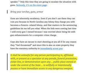 AntiCommunist Action Bring Guns