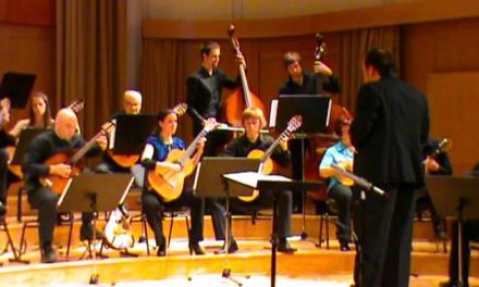 Friday Music: Orinoco Flow (Orkester Mandolina Ljubljana)