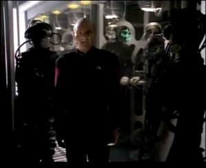 Picard vs Borg