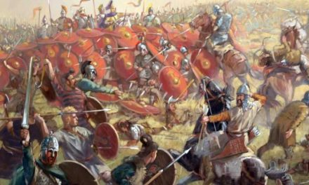 The Battle Of Chalons, A.D. 451