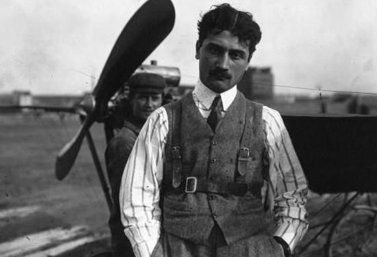 Roland Garros, the First Air Fighter