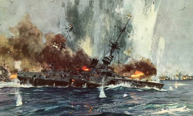 The Battle of the Falkland Islands (1914)