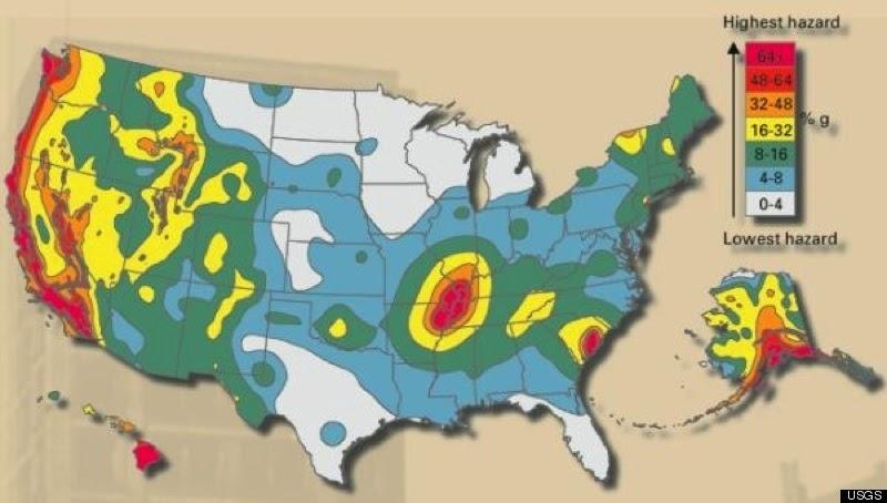 Where to Live VI – Earthquakes