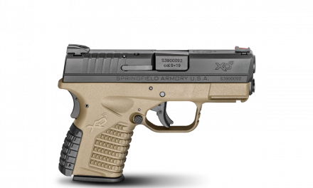 First look at the Springfield XD-S