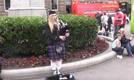 Chicks and bagpipes