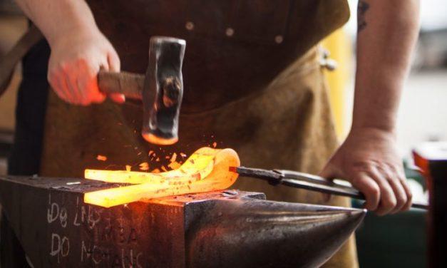 Blacksmithing: Celtic Cross