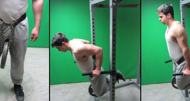 Beast Life: Weighted Dips