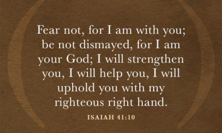 Hymn: Be Not Dismayed