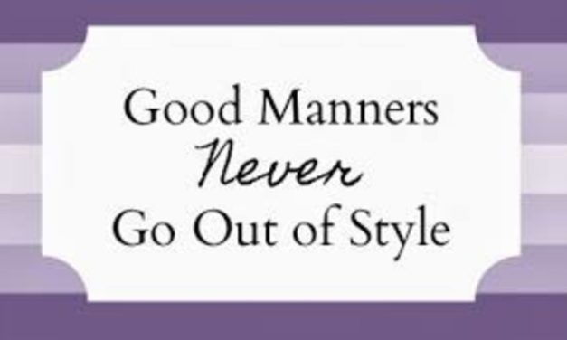 Resource: Handbook On Southern Manners