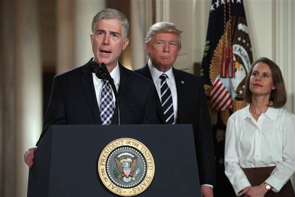 Gorsuch for SCOTUS