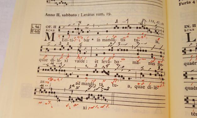 """Hymn: Gregorian Chant – """"Deum Verum"""""""