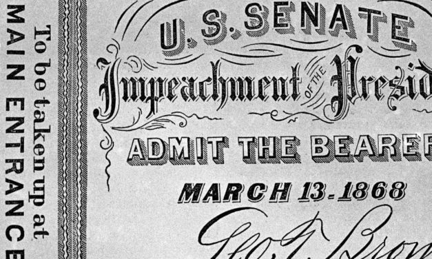 The Problem with The U.S. System of Impeachment and Trial of Those Holding Federal Office