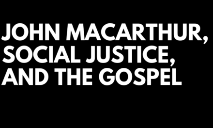 Sermon: Social Justice And The Gospel, Part 4