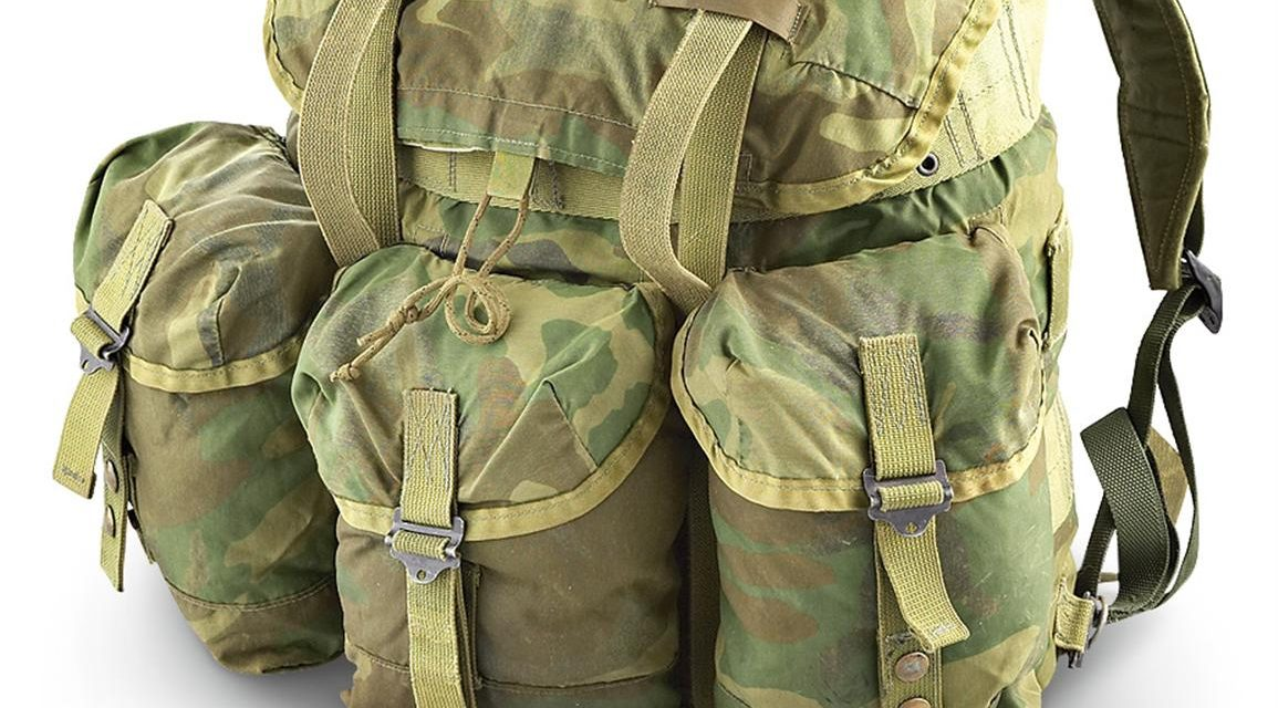 Inexpensive rucksack: the A.L.I.C.E.