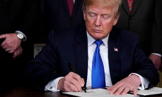 On Trump Signing the Omnibus