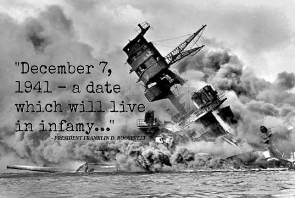 A Day Which Will Live In Infamy
