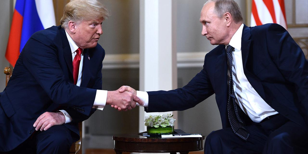 Trump and Putin in Helsinki