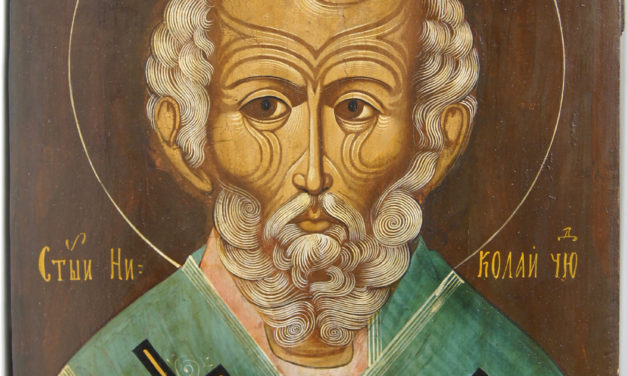 Saint Nicholas: Miracle Worker.