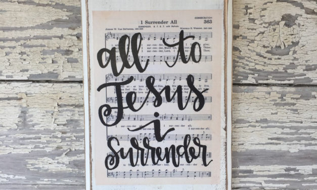 Hymn: All To Jesus I Surrender