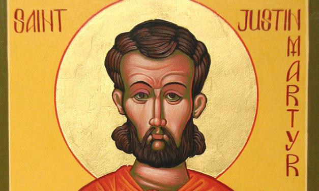 Communion: Justin Martyr