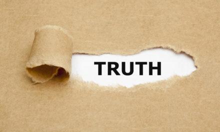 Sermon: Letting The Truth Slip