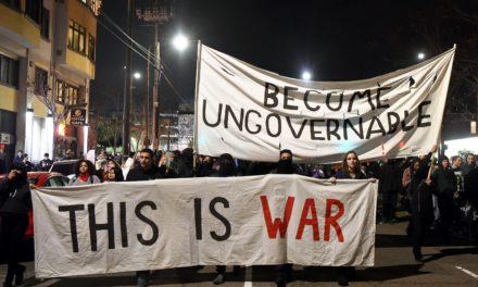 No U.S.A.  at All – Antifa's Goal