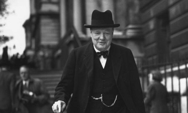 "Video: Churchill's ""We Shall Never Surrender"""
